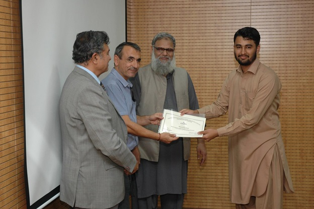 """Attended """"Short Course on Latest Trends in Green Chemistry"""" instructed by Dr. Jean Mark Laveque at Pakistan Institute of Engineering & Applied Sciences (PIEAS), Department of Nuclear Engineering, 2016"""